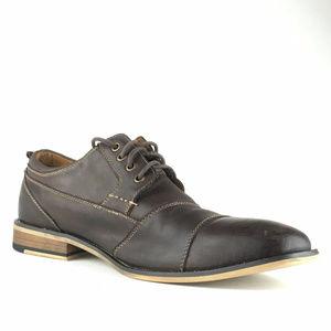 Steve Madden P-Kesslo Leather Cap Oxfords Size 11